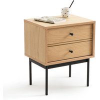 Nyjo Bedside Table with 2 Reversible Drawers