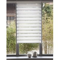 Day/Night Light-Filtering Roller Blind with Easy Concept Fitting System (Narrow Windows)