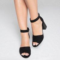 Fur-Lined Sandals