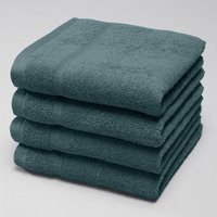 Pack of 4 Cotton Terry Guest Towels, 600g/m²