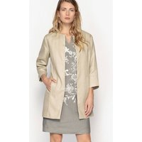 Pure Linen Fitted Jacket