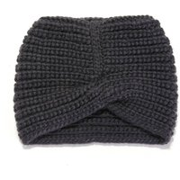Girls' Hat with Cable Knit on Front