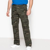 Camouflage Print Combat Trousers