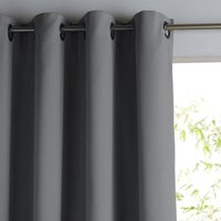 Single Thermal Blackout Curtain with Eyelets