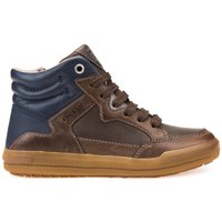 Arzach BD Leather High-Top Trainers.
