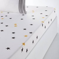 Fringe Printed Fitted Sheet