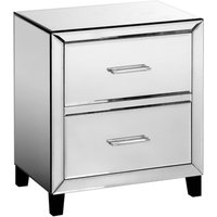 'Alouette Mirrored Bedside Table