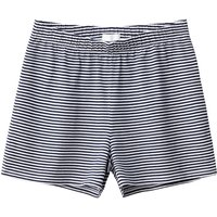 Striped Draping Shorts, 10-16 Years