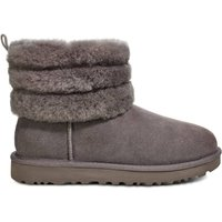 Fluff Mini Quilted Ankle Boots