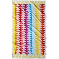 Block Cotton Beach Towel, 420g/m ²