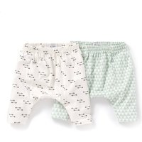 Pack of 2 Cotton Joggers, Birth - 2 Years