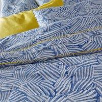Mistral Blue Printed Duvet Cover