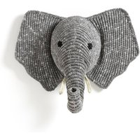 Lapilli Elephant Wall Decoration