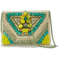 Cuzco Wallet With Beads And Embroidery