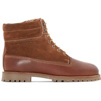Combat Combi Leather Ankle Boots