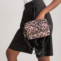 Leopard Print Camera Bag