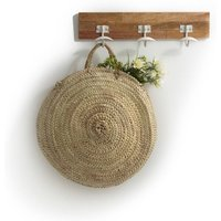 Oudi Round Moroccan-Style Basked in Natural Doum