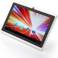 Tablette tactile Android 4.1 Jelly Bean 7 pouces capacitif 10 Go Blanc