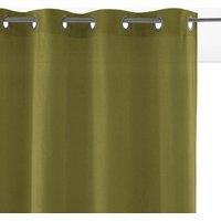 Velvet Single Eyelet Curtain
