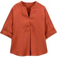 shop for Mandarin Collar Blouse at Shopo