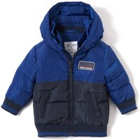 Two-Tone Hooded Padded Jacket, 1 Mth-3 Years