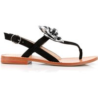 Dallydolly Flat Leather Sandals