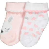 Pack of 2 Pairs of Printed Boucl © Baby Socks