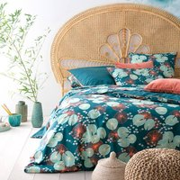 JARDIN D € ™EAU Cotton Percale Duvet Cover