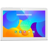 Tablette multimédia 10 Android 6.0 32 Go 4G Octa Core 2Go RAM Argent