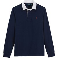 Cotton Rugby Shirt with Long Sleeves