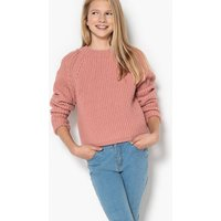 Ribbed Cropped Jumper, 10-16 Years