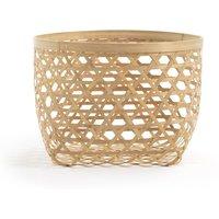 NYLIA Large Bamboo Storage Basket