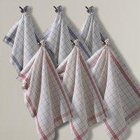 Set of 6 Colas Linen-Cotton Tea Towels