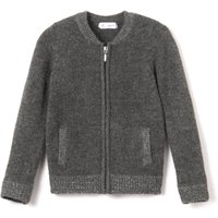 Zip-Up Bomber-Style Cardigan, 3-12 Years