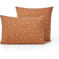Stella Organic Cotton Pillowcase with Star Print