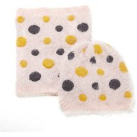 Epois Polka Dot Hat and Snood Set