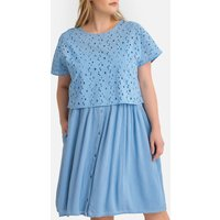 shop for Broderie Anglaise Layered 2-Piece Dress at Shopo