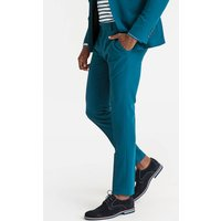 Cropped Slim Fit Suit Trousers, Length 31.5