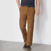 Combat Trousers with Elasticated Waist