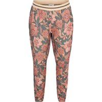 Floral Print Straight Trousers