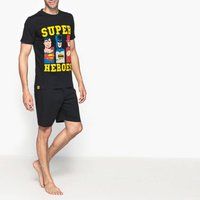 Superheroes Short-Sleeved Short Pyjamas