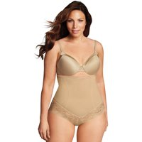 Curvy Firm Foundation High Waist Control Briefs