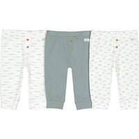 Pack of 3 Leggings in Cotton, 1 Month-3 Years