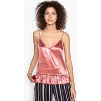 Lenny Silk Style Frilled Camisole