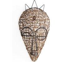 Yanaelle African Wicker Mask 1