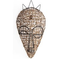 Yanaelle African Wicker Mask 1