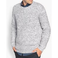 Chunky-Knit, Crew-Neck Jumper