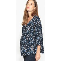 Floral Print Maternity Blouse