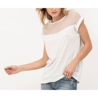 Plain Sleeveless Crew Neck T-Shirt