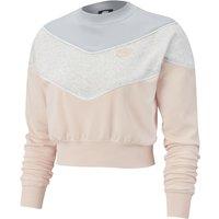 Cropped Colour Block Sweatshirt